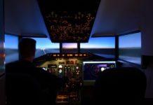 simulatore di volo