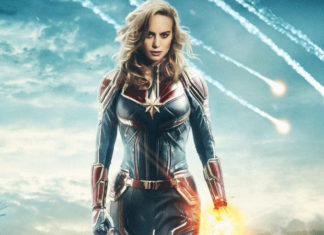 captain marvel - esterno