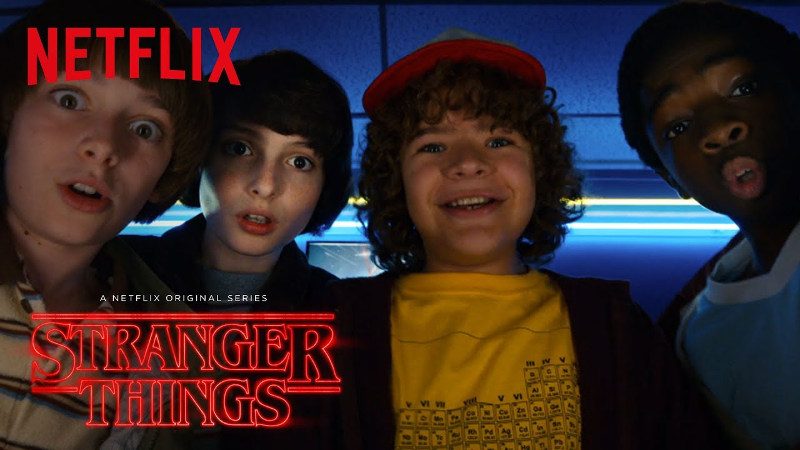 stranger things - interno