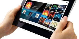tablet - esterno