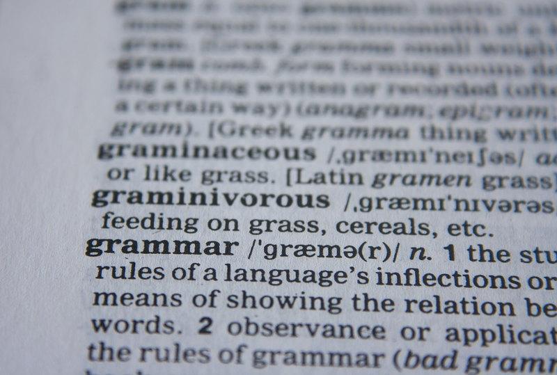 analisi grammaticale - interno