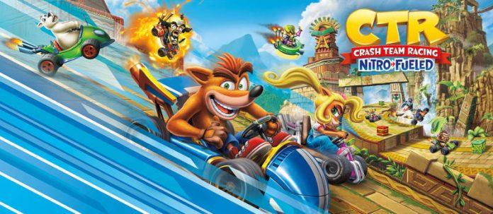 crash team racing - esterno