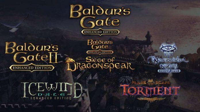 baldur's gate - esterno