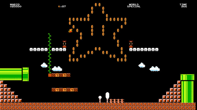 super mario maker - interno