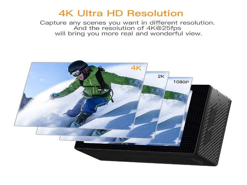 Apeman 4K Ultra HD - interno