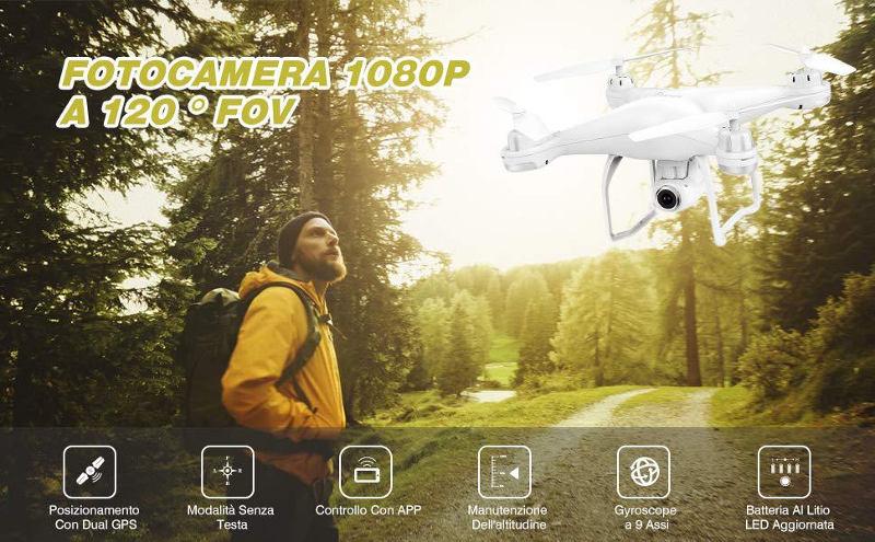 Potensic Drone T25 Dual GPS - interno