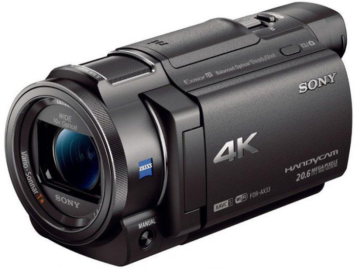 Sony FDR-AX33 - esterno