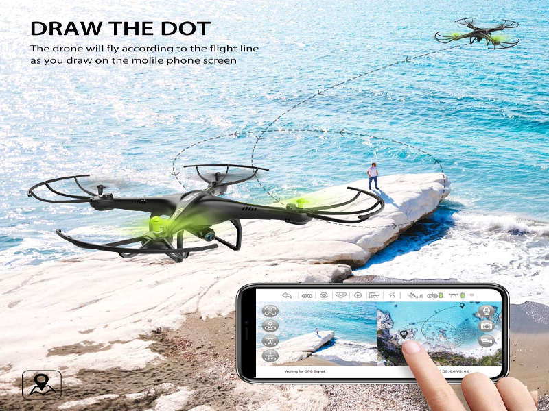 potensic drone - interno