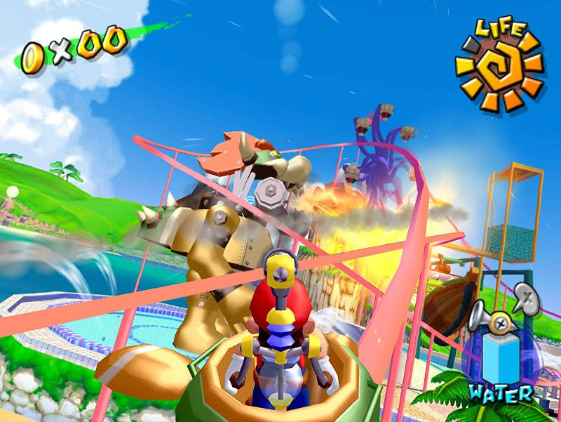 super mario sunshine - interno